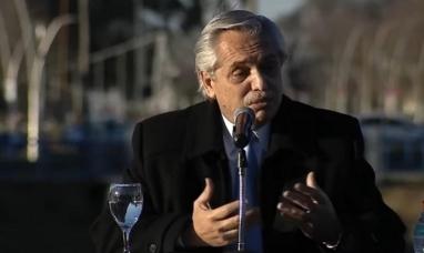 """""""Fabiola convocó a un brindis que no debió haberse hecho"""" dijo Alberto Fernández"""