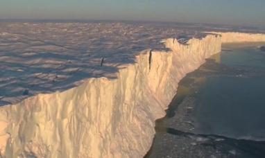 Gigantesco iceberg se desprendió de la Antártida