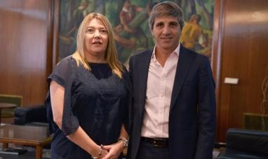 La gobernadora de Tierra del Fuego gestiona financiamiento para obras de infraestructura