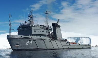El gobierno argentino envió dos buques para colaborar con la búsqueda del avión chileno perdido