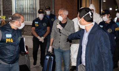El Gobierno nacional expulsó a un ciudadano italiano que violó la cuarentena