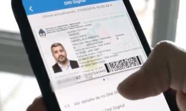 El gobierno nacional presentó ayer lunes el nuevo DNI digital