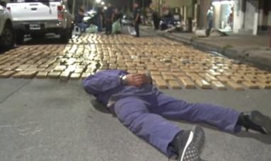 Lanús: secuestran dos toneladas de marihuana tras una persecución y un tiroteo