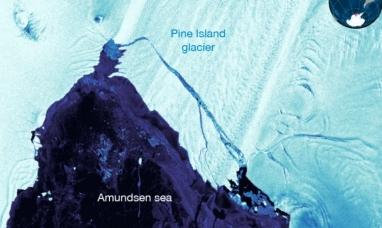 Se libera en la Antártida un segundo iceberg cuatro veces el tamaño de Manhattan