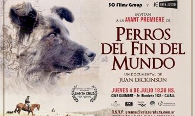 """Llega a los cines el documental """"Los Perros del Fin del Mundo"""""""