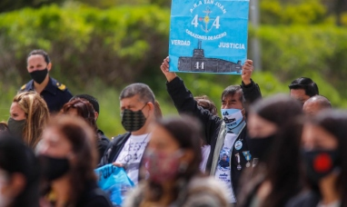 Mar del Plata: Homenajearon en la base naval a los 44 tripulantes del ARA San Juan