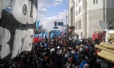 Martes de protestas en todo el país, la advertencia de la ministra de seguridad a las organizaciones sociales