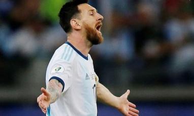 """Messi contra el VAR: """"Se cansaron de cobrar boludeces en la copa América y hoy ni lo revisaron"""""""