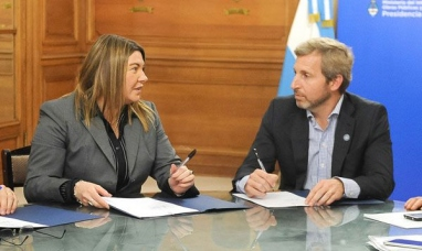 El ministro del interior está en Tierra del Fuego, hará anuncios para la provincia