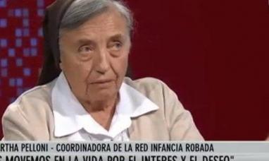 """La monja Martha Pelloni dijo que """"La cámpora es el brazo del narcotráfico en la política de Cristina Fernández viuda de Kirchner"""""""