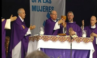 "Monseñor Oscar Ojea: ""No es lícito eliminar ninguna vida humana"""