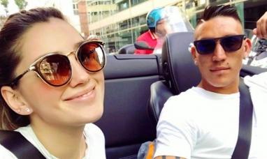 Murió la novia del futbolista Ricardo Centurión en un accidente automovilístico