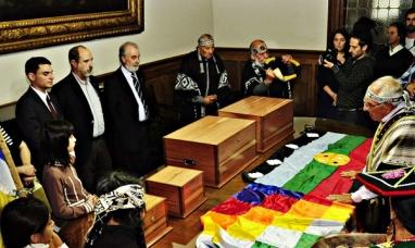 El Museo de La Plata restituyó restos a la comunidad Selk'nam