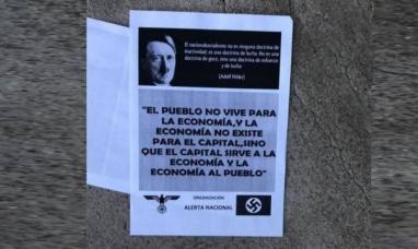 Río Negro: Repudian en Viedma la distribución de panfletos nazis