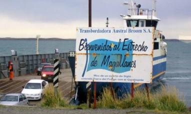 Nuevo aumento para cruzar el estrecho de Magallanes
