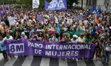 Un nuevo 8M, este lunes habrá marchas en todo el país