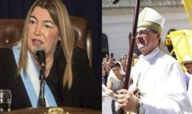 El Obispo García Cuerva se suma a la campaña de la gobernadora Rosana Bertone