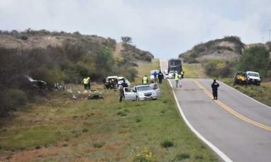La Pampa: Murió una joven de Ushuaia en choque frontal