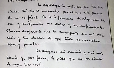 El papa Francisco tuvo un gesto especial con Milagro Sala