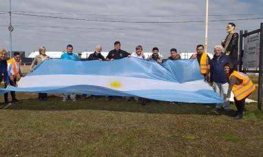 Partieron desde Tierra del Fuego hacia la Patagonia norte y participarán de la quinta marcha de la soberanía