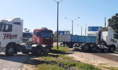 Por cortes de rutas, advierten sobre el colapso en las fronteras y el abastecimiento regional