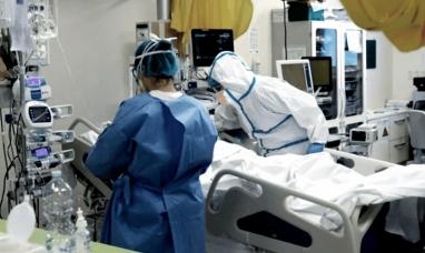 Por primera vez las camas de terapia intensiva del país están por debajo del pico de 2020