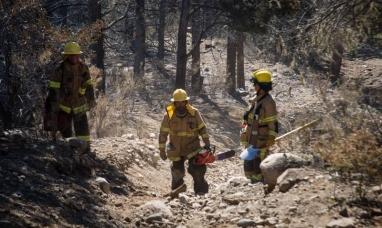 El premio para los que combatieron el fuego: Les bajaron el sueldo