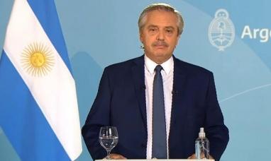 El presidente anunció las nuevas medidas restrictivas con el foco en el AMBA hasta el 21 de mayo