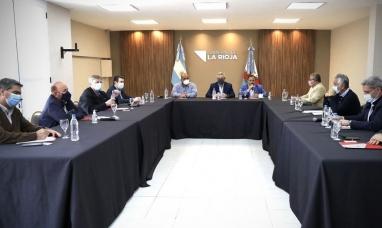 El presidente descansará en La Rioja hasta el lunes