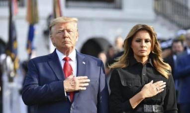 El presidente de los estados unidos del norte de América y su esposa tienen coronavirus