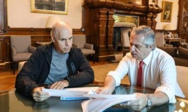 El presidente se reunirá hoy a las 10.00 horas con el jefe de gobierno porteño