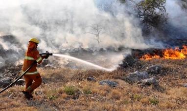Córdoba: Se complica la situación por los incendios forestales