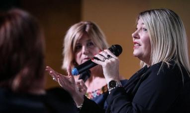 Córdoba: La gobernadora de Tierra del Fuego dijo que el mundo del siglo XXI es un mundo femenino