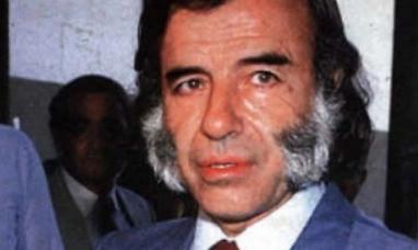 Robaron el histórico anillo del ex presidente Carlos Menem