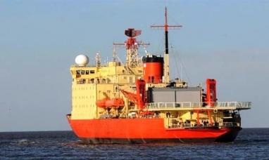 El rompehielos Irízar inició la segunda etapa de la campaña antártica