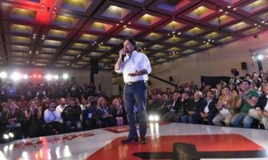 """Salta: """"Vamos a trabajar para poner la provincia de pie de una vez por todas"""" dijo el ganador de las PASO"""