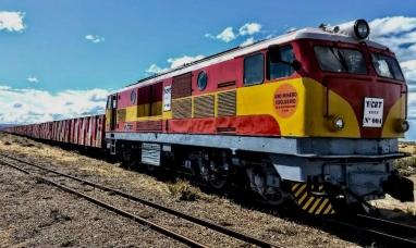 Santa Cruz: Trenes carboneros de Río Turbio a Río Gallegos
