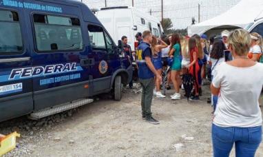 Santa Fe: Policía federal desarticuló organización que explotaba a promotoras en los autódromos