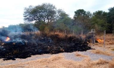 Santiago del Estero: El prosecretario de CRA dijo que sospecha del PRO por la quema de su campo