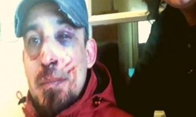 Separan a cuatro policías por golpear a un comerciante que salió a pasear el perro