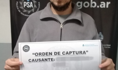 Sospechoso por asesinato fue capturado por la PSA