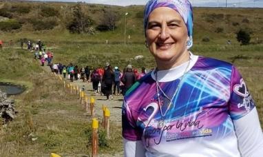 """Tierra del Fuego: Más de 120 personas participaron de la """"Corre-caminata"""" solidaria"""
