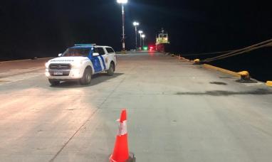 Tierra del Fuego: Se activó protocolo de emergencia en el puerto de Ushuaia