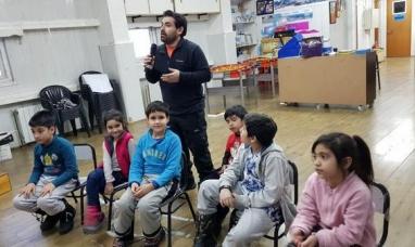 Tierra del Fuego: Alumnos de la Antártida charlaron por vídeo conferencia con alumnos de Chivilcoy