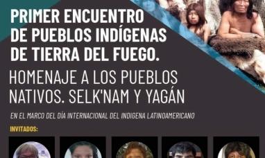 Tierra del Fuego: Anuncian el primer encuentro virtual de pueblos nativos