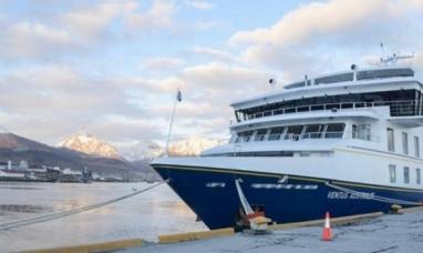 Tierra del Fuego: Arribó el primer crucero de la temporada al puerto de Ushuaia