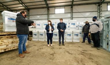 Tierra del Fuego: Arribaron materiales y artefactos para las conexiones domiciliarias de gas para más de 3 mil familias
