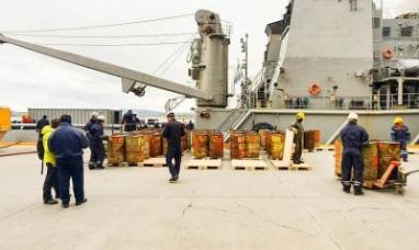 Tierra del Fuego: Arribaron residuos generados en las bases antárticas