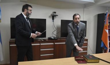 Tierra del Fuego: Asumió el secretario del juzgado en lo civil y comercial de Ushuaia