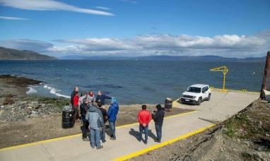 Tierra del Fuego: Avanzan las obras de los muelles de pescadores